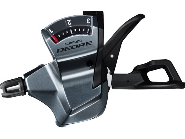 Shimano Deore Trekking SL-T6000 Gearhåndtag 3-gears venstre sølv (2019) | Gear levers
